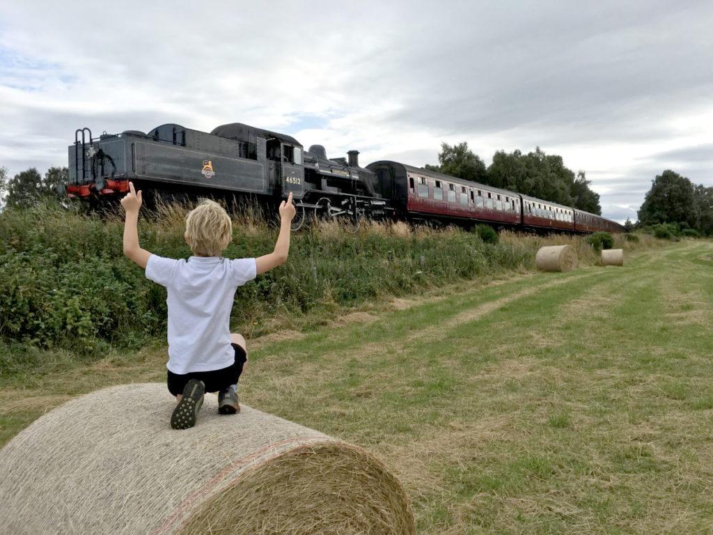 Train & Boy